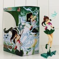 23 cm Sailor Jupiter Kino Makoto Rysunek Toy Model Hot Japanese Anime Sailor Moon Rysunek Toy Model Figuarts ZERO PCV Zabawki dla dziewczyny