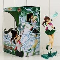 23 cm Sailor Jupiter Makoto Kino Figure Modello Giocattolo Caldo Anime Giapponese Sailor Moon Figure Model Toy PVC Figuarts ZERO Giocattoli per la ragazza