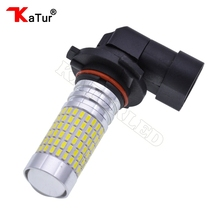 1pcs 1500 Lumens Extremely Bright 144-EX Chipsets 9006 HB4 LED Bulbs with Projector for DRL or Fog Lights, 6000K Xenon White