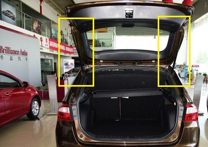 (2pcs/set) Trunk Gas Strut For Chinese Brilliance V5 SUV Auto Car Motor Parts 4529990
