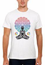 Aztec Yogaer Buddha Chakra Meditation Men Women Vest Top Unisex T Shirt 1516 Loose Black Tshirts Homme Tees