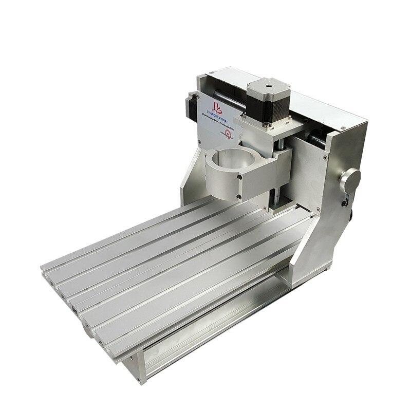 Interrupteur de limite CNC pièce d'usinage kit de bricolage 3020 CNC cadre avec moteur pas à pas pour routeur de CNC