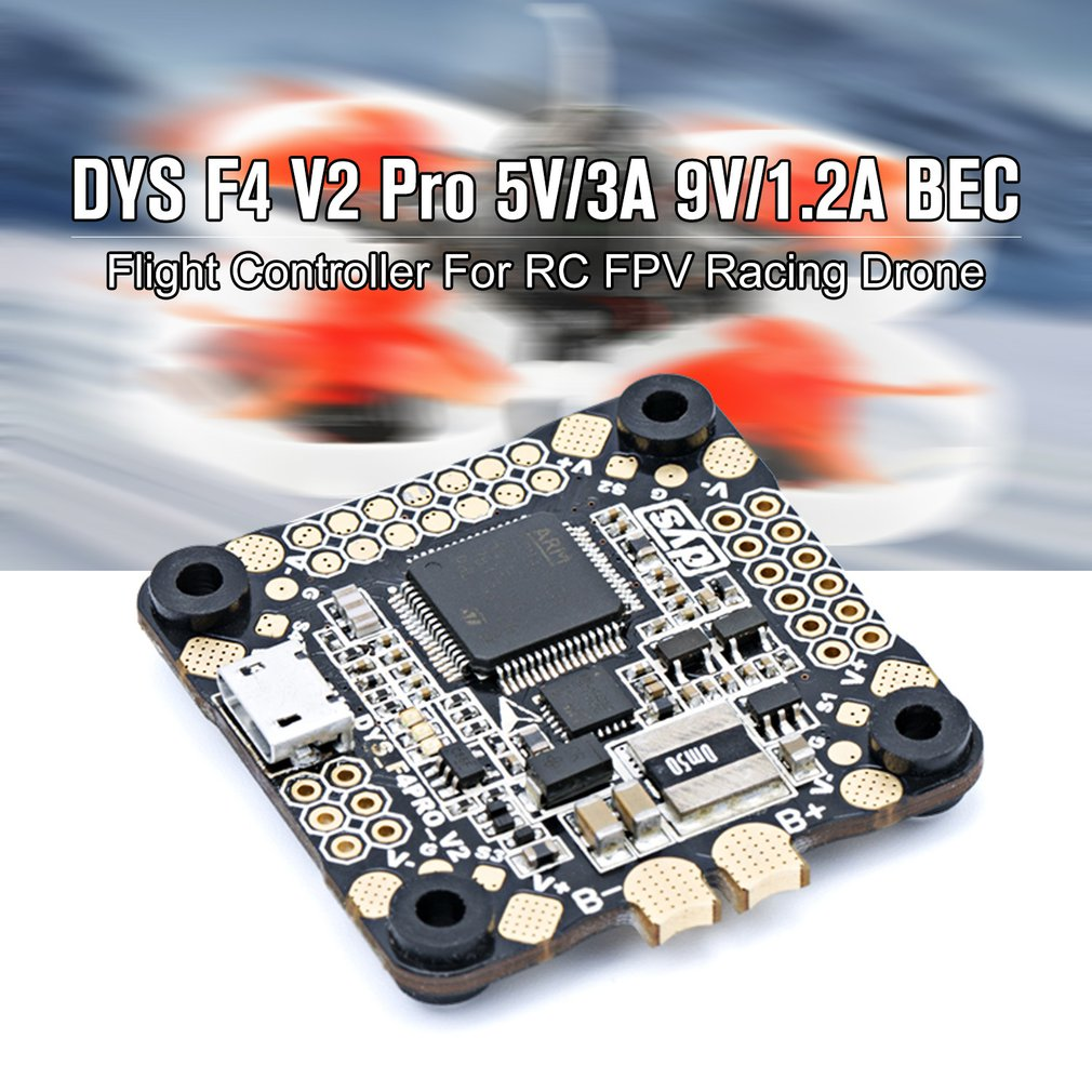 DYS F4 V2 Pro 3 6s Lipo Flight Controller with 5V/3A 9V/1.2A BEC For RC FPV Racing Quadcopter Drone Accessories