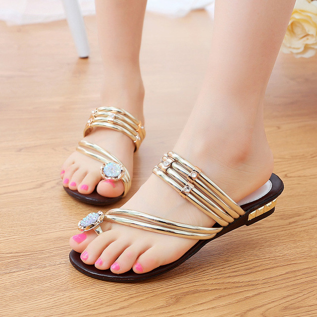 Women shoes 2018 new fashion rhinestone beach women sandals shoes comfortable platform summer sandals women shoes women s shoes 2017 summer new fashion footwear women s air network flat shoes breathable comfortable casual shoes jdt103