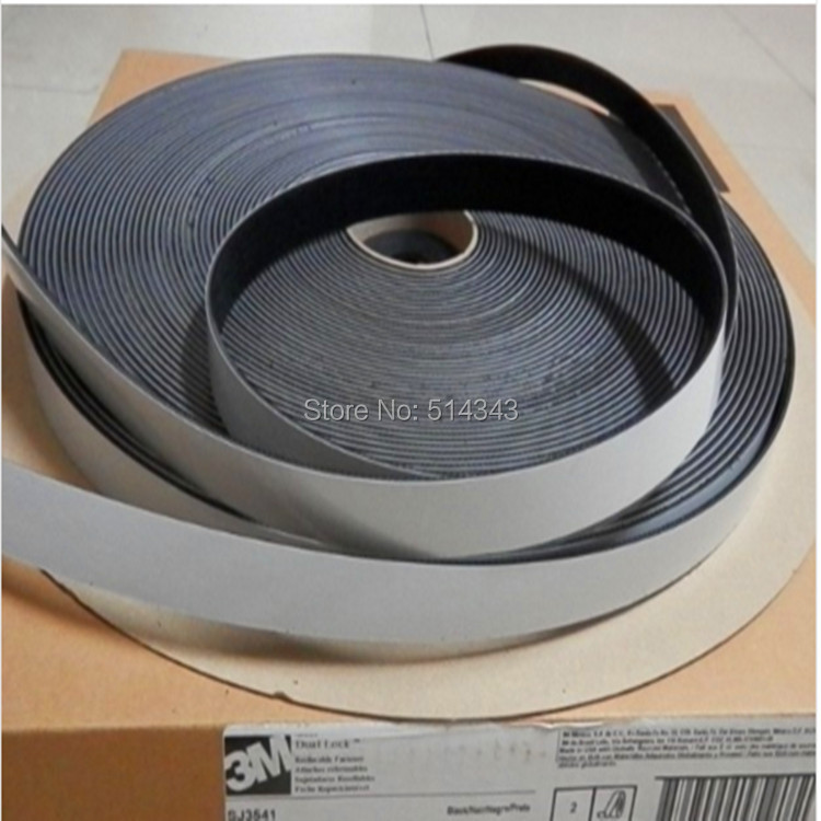3M SJ3541 Black Acrylic Double sided tape 1in *50yards one roll adhesive tape 10m super strong waterproof self adhesive double sided foam tape for car trim scotch