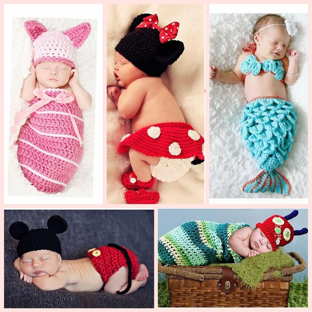 b76f3a7892e Baby kids knitted animal hats crochet knit gorro bebe photograph handmade  Crochet snail Newborn Baby