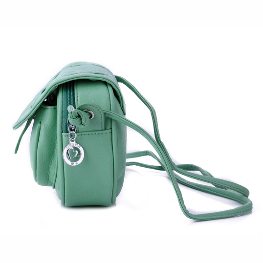 ombro bolsa de couro sintético Interior : Bolso Interior do Zipper