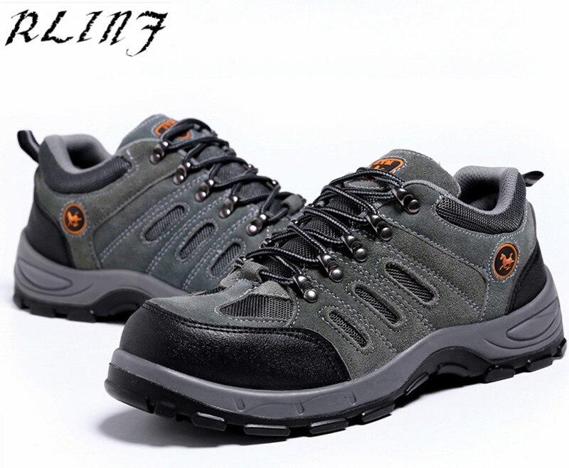 De verde Site Sapatos Marrom Sólida Biqueira perfuração Trabalho Aço Inferior Anti Segurança esmagamento Do Rlinf Seguro Anti Respirável HvvdTqa