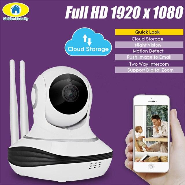 Golden Security Full Hd 1080p Ip Camera Cloud Storage Wireless Home Surveillance Wifi Cctv