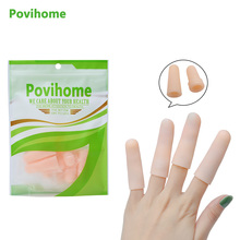 2pair /4Pcs Silicone Gel Tubes Finger Protection Foot Blister Protect Feet Pain Relief Care Product