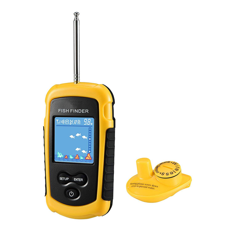 Sonar Fish Finder Wireless Portable Echo Sounder Fishfinder Camera Fishing Shore Kayak Underwater Hunting Alarm Transduce