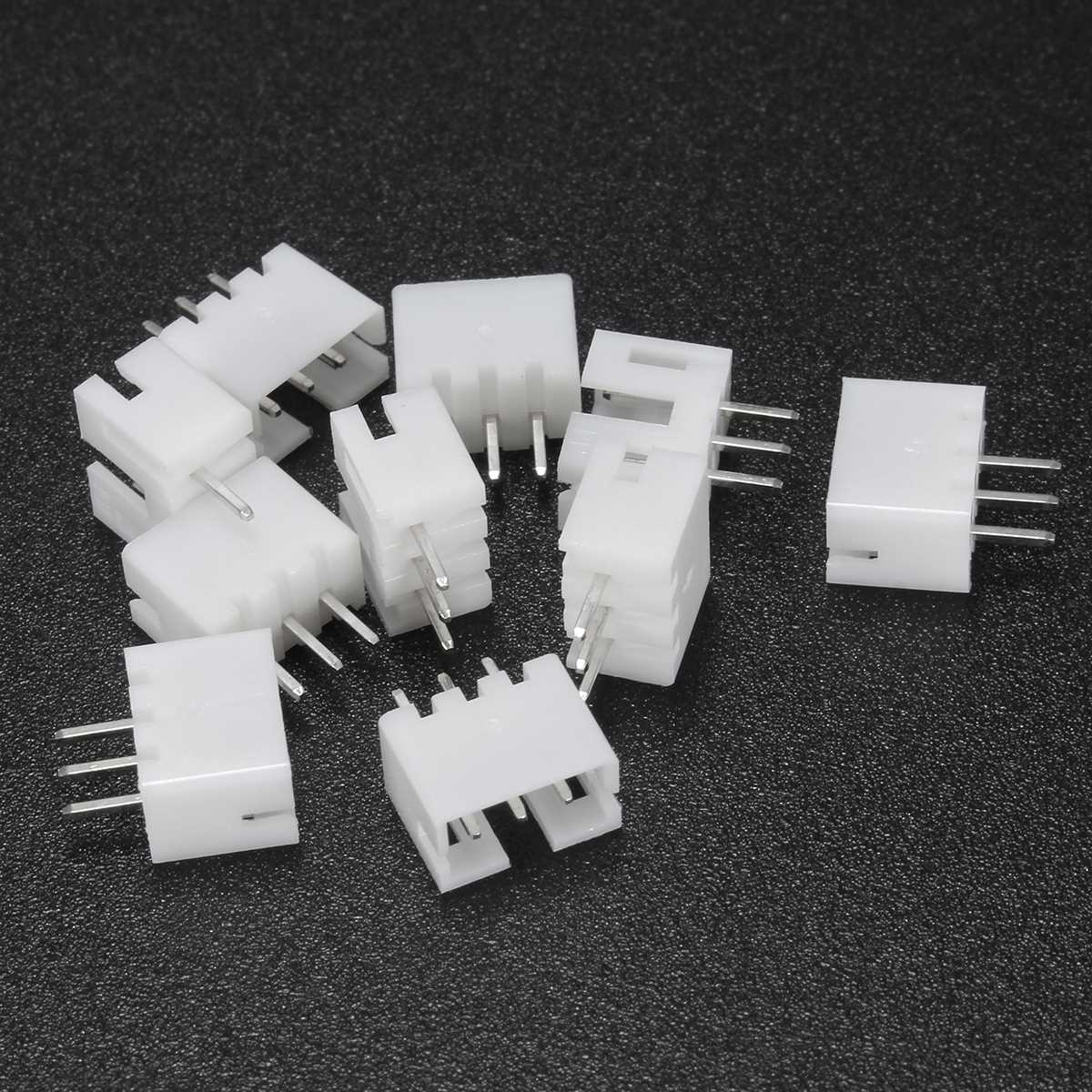10 Sets Mini Micro ZH 2.0 PH 3 Pin JST Connector Plug With Wires ...