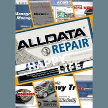 Купить с кэшбэком Alldata software programs V10.53 auto repair mitchell ondemand vivid workshop automotive car diagnostic tool professional data