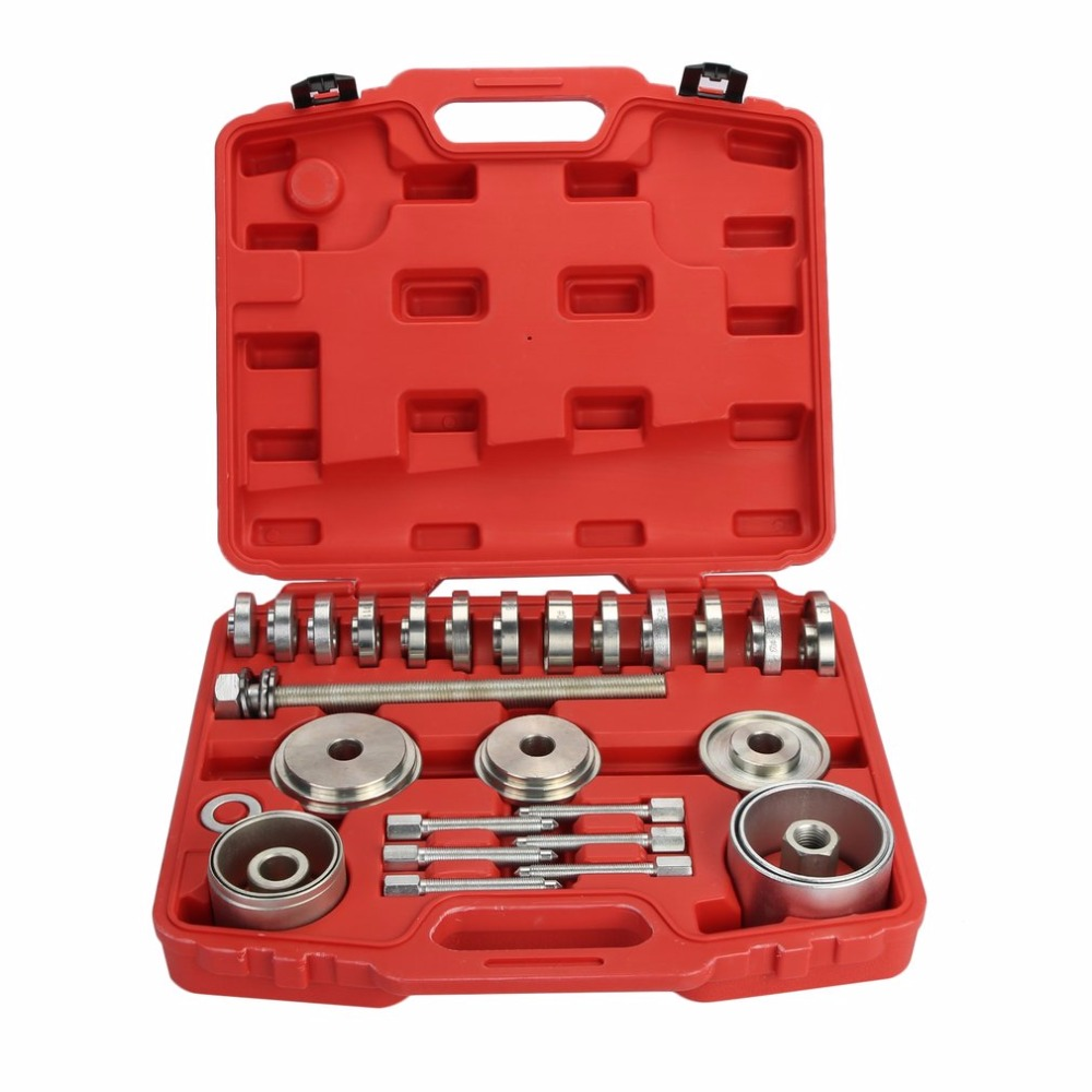 цена на New Professional Wheel Drive Bearing Puller Hub Bearing Removal Disassembly Tool Set For BMW For Audi For VW For Ford T5