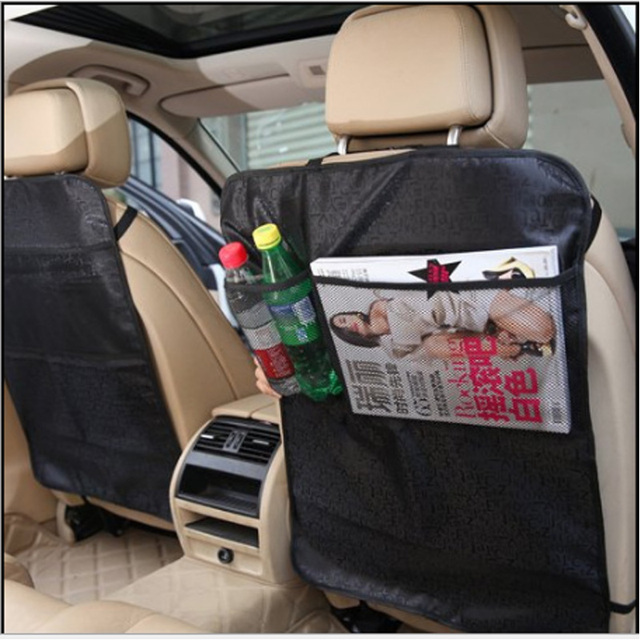 LUNDA Car Seat Covers Mat Back Protector Case Cover For Children Kick Mats Mud Clean