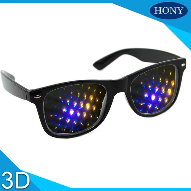 f7ba7c3840718 20 pcs Pacotes de Ano Novo Óculos de Difração Grades de Plástico 13500  Linhas