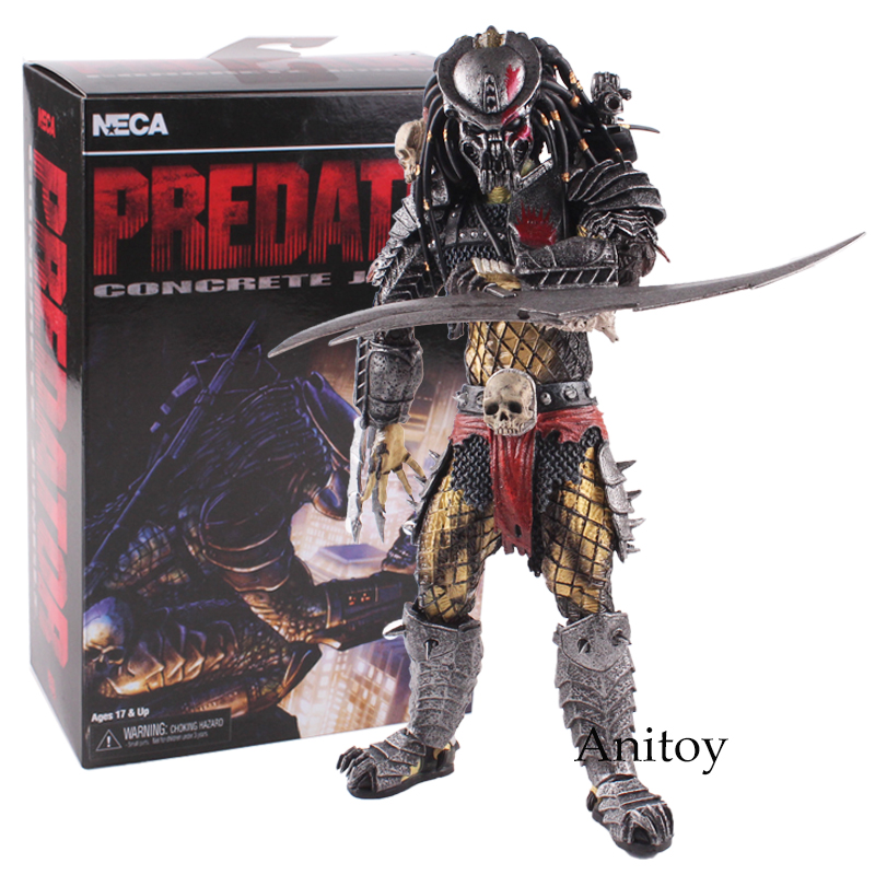 NECA Predator Concrete Jungle Peel Yoys Action Figure PVC Collectible Ver.Toy Gift 23.5cmNECA Predator Concrete Jungle Peel Yoys Action Figure PVC Collectible Ver.Toy Gift 23.5cm