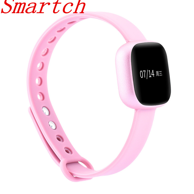 Smartch Smart Fitness Bracelet Pulsometer Blood Pressure Monitor V8 SmartBand Pedometer Heart Rate Monitor Men Sports