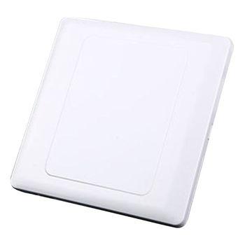 Przełącznik ścienny osłona gniazda tablica ABS płytka wylotowa Bezel Tool 86x86mm tanie i dobre opinie CN (pochodzenie) Mieszanie Switch Cover ABS Plastic app 86x86x5mm 3 39x3 39x0 20in White 1 Pc