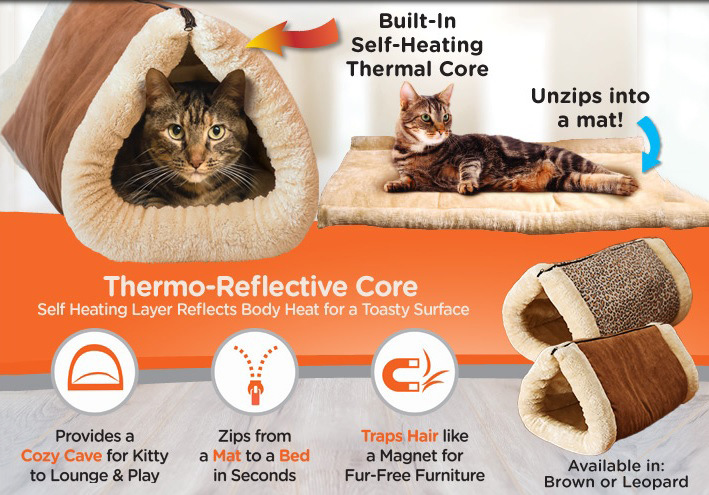 2 In 1 Pet Tunnel Bed And Mat | Minimalist Home Design Ideas
