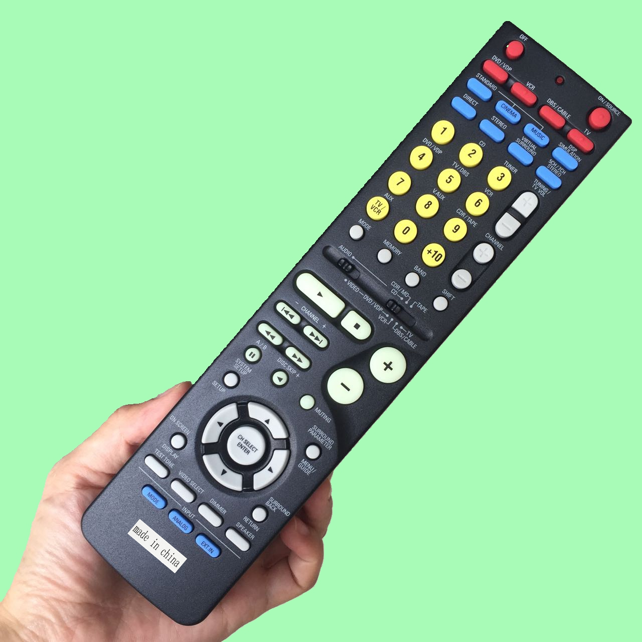 Remote control original rc 1006 for denon home theater dvd ...