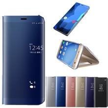 Смарт-зеркало View Case Coque для Samusng Galaxy S8 S9 A5