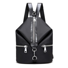 BIACK женщины Рюкзак высокое качество в стиле женская сумка нейлон back молодых колледж дамы сумки книгу sacks in back мода мешок