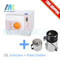 Stainless Steel Water Distiller Dental / Clinic / Hospital Sterilization Equipment and 23L Autoclave Class B Big Discount
