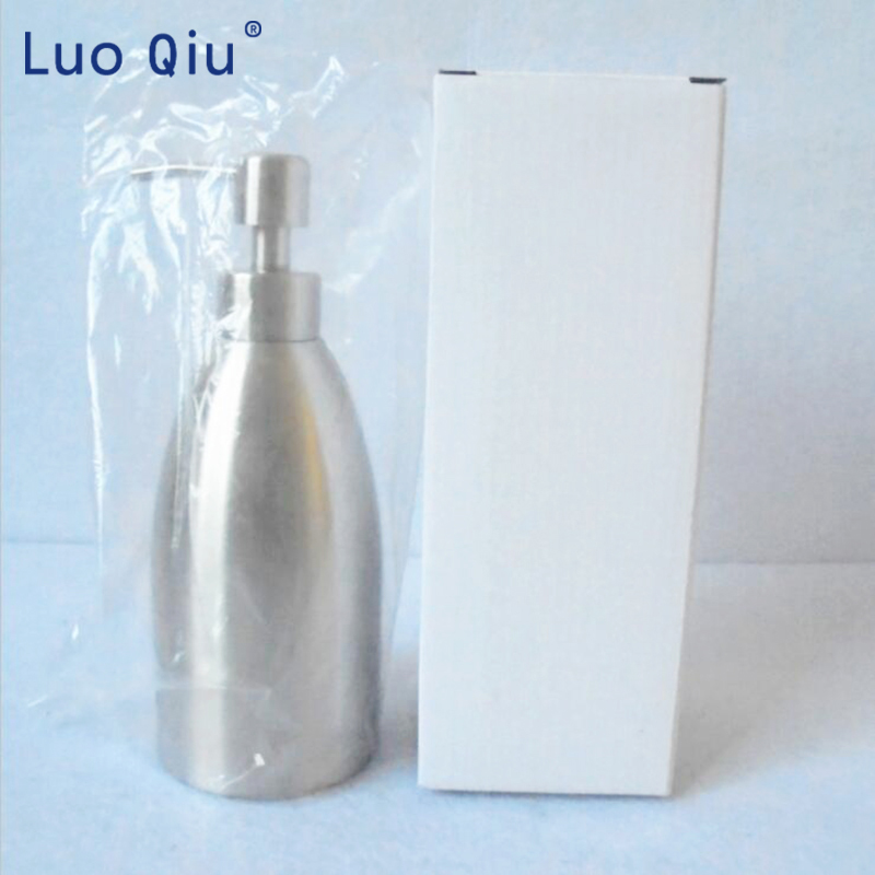 400ml Stainless Steel Soap Dispenser Kitchen Sink Faucet Bathroom Shampoo Box Soap Container Deck Mounted Detergent Bottle in Liquid Soap Dispensers from Home Improvement