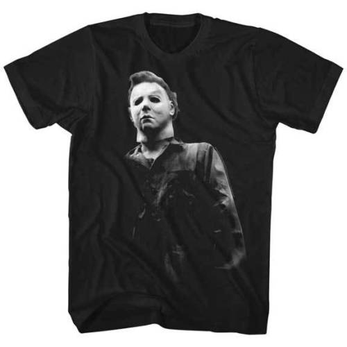 Halloween Michael Myers Photo Adult T Shirt Great Classic Movie