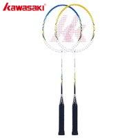 Kawasaki Badminton Racket Aluminum Alloy Frame Steel Rod for Junior Amateur Player Cheap Badminton Racquet UP 0157