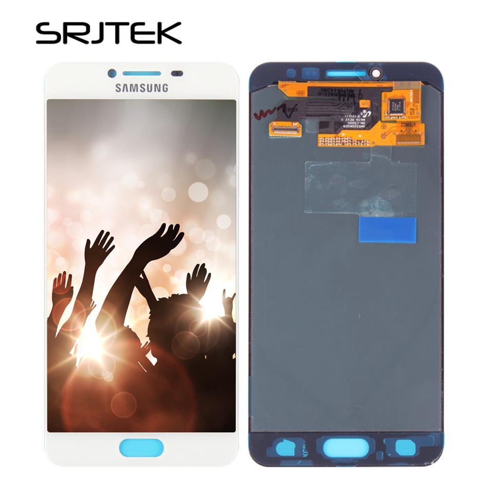 Srjtek Screen For Samsung Galaxy c5 pro c5010 LCD Display Touch Digitizer Sensor Glass Assembly 5