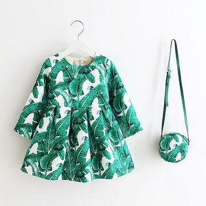 Image 5 - 여자 드레스 유니콘 파티 어린이 의류 공주 드레스 가방 2018 아기 옷 키즈 꽃 드레스 여자 의상