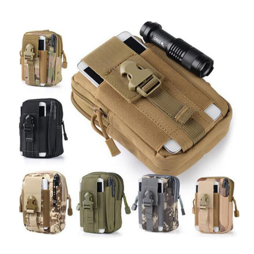 Outdoor Tactical Molle Pouch Belt Waist Bags Military Waist Fanny Pack Phone Cases Pocket For Samsung