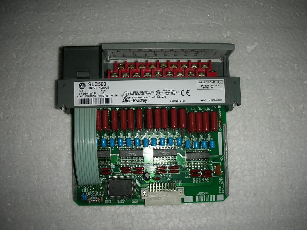 1PC USED AB PLC 1746-IA16 9 into a new изолента еврогарант синяя 19мм х 20м