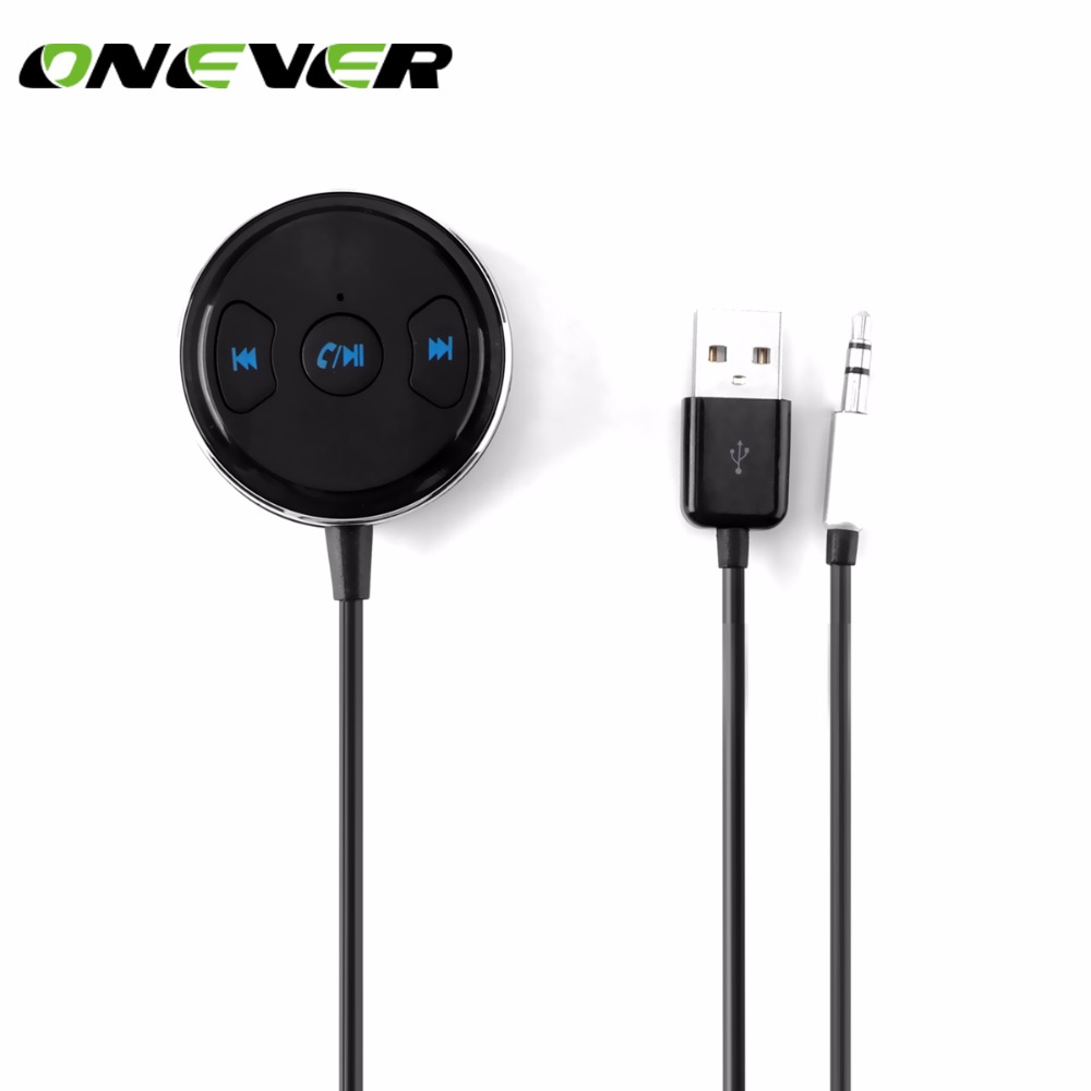 Onever Bluetooth Receiver 3.5mm Jack Bluetooth Audio Music Wireless Receiver Adapter Car Aux For
