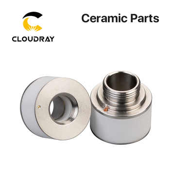 Cloudray Laser Ceramic Nozzle Holder Diameter 24.4mm Height 22.3mm For Fiber Laser Cutting Head Free Shipping