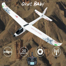 2019 Brand New Okus Baby 5CH 3D6G System Plane RC Airplane New Quadcopter fixed wing drone 70cc wing bag for 86 93in 3d plane 50 70cc airplane wing protection