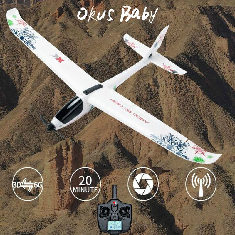 2019 Brand New Okus Baby 5CH 3D6G System Plane RC Airplane New Quadcopter fixed wing drone image