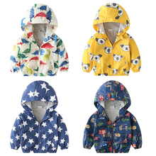 New Spring Kids Clothes Boys Girls Jackets Children Hooded W