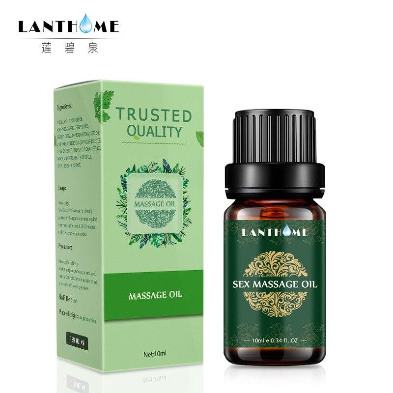 Интимное массажное масло lantome, эфирное масло для спа, сексуальный феромон, афродизиак, усилитель волнения, увлажняющий натуральный аромат