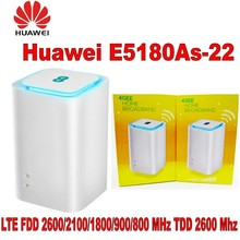 Lot of 100pcs Unlocked Huawei E5180 E5180as-22 4G LTE Cube WiFi Hotspot Home wireless Router цена и фото