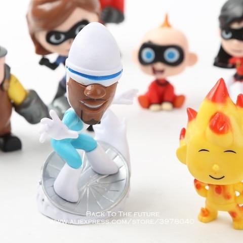 Disney The Incredibles 2 Action Figure 4-8cm 12pcs/set Posture Anime Decoration Collection Figurine Toys model for children gift Multan
