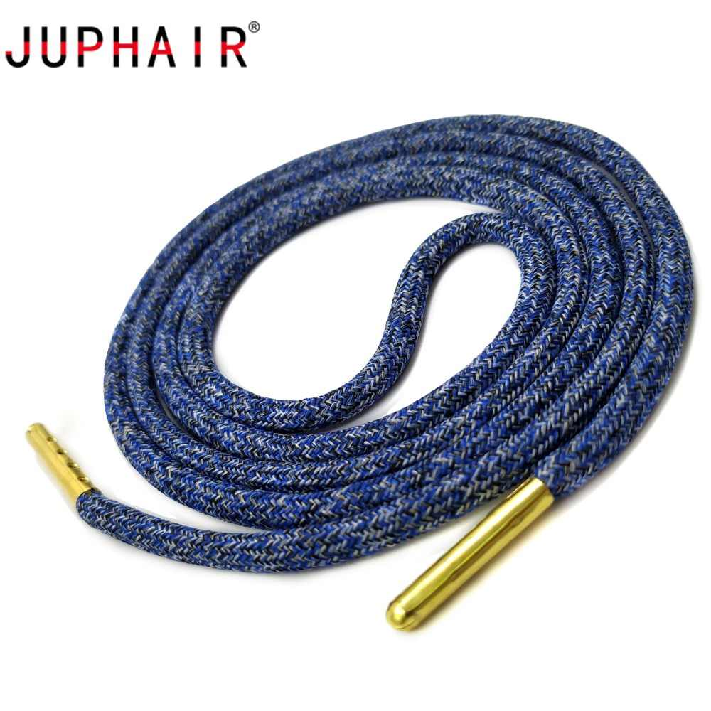 733fcc1d0a Detail Feedback Questions about JUPHIAR Round Shoelaces Golden Metal Head  Shoelace Thick Camouflage Candy Colors Shoe Laces Rope Fit All Men Women  Sport ...