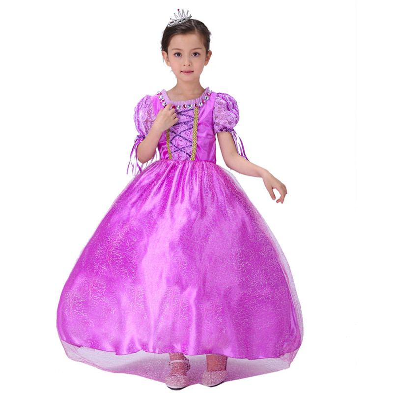 Sofia Princess Dress Kids Cosplay Costumes Girls New Arrival: Purple Sofia Princess Cosplay Dresses The First Costume