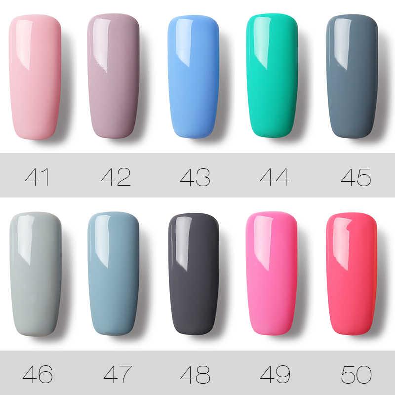 (12 pièces/ensemble) ensemble de vernis à ongles ROSALIND Gel pour Kit d'extension d'ongle Art des ongles conception de lampe à LED UV manucure ensemble de vernis à ongles acrylique