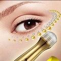 24 k ouro atom ageless saco de creme para os olhos anti inchaço escuro círculo rugas hidratante radiação antioxidante infiltração massageador