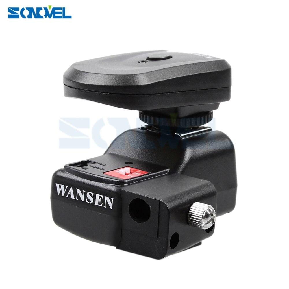 NOUVEAU PT-04 NE 4 Canaux Sans Fil/Radio déclencheur Flash avec Support Parapluie Pour Canon 1000D 550D 650D 700D 800D