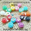 Бесплатная доставка контактные линзы чехол 100 шт. контактные линзы спутником роуз стиль контактные линзы коробка двойными линзами коробка