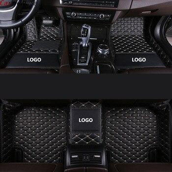 Car Wind car floor mats For bmw x3 e83 x3 f25 g30 x5 e70 x6 e71 z4 e85 e70 f45 f34 f11 f10 f15 f25 accessories carpet rug